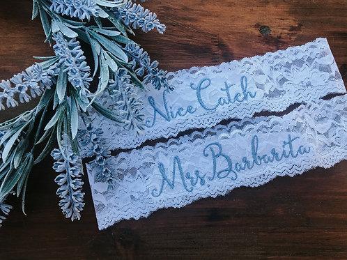 Wedding Garter /Mrs._____/Toss Garter