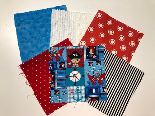 Pirate Made to Order Play Quilt