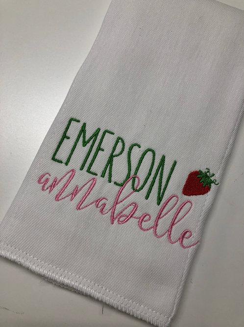 Emerson Annabelle Baby Rag