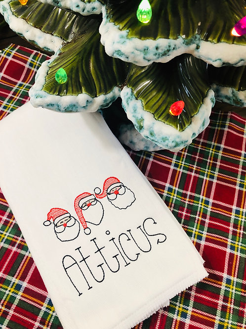 Atticus Santa Baby Rag