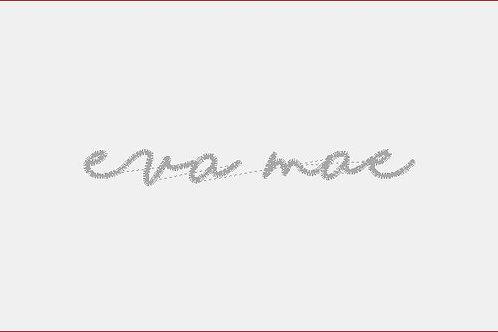 Design Your Own Bib or Baby Rag ~Eva Mae Font