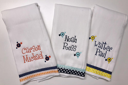 First/Middle Name Baby Rag (1)