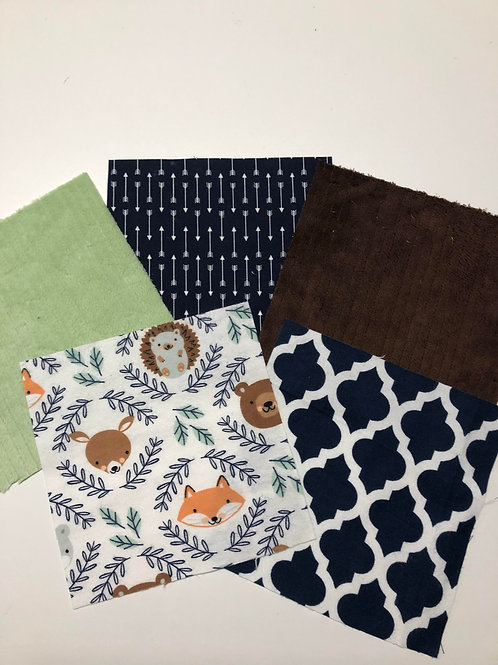 Animal Heads Play Quilt