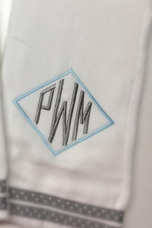 Design Your Own Baby Rag/Bib Set with Monogram