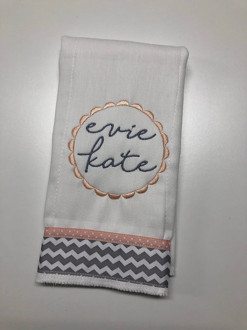 Evie Kate Baby Rag