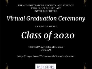 Senior Graduation Today!