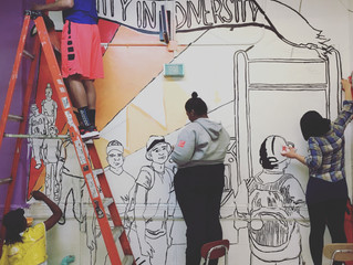 "Join PSC Students at ""No Scan Zone"" on May 14 for the unveiling of our new mural and for a"