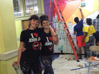 The PSC Mural Is Coming to Life!