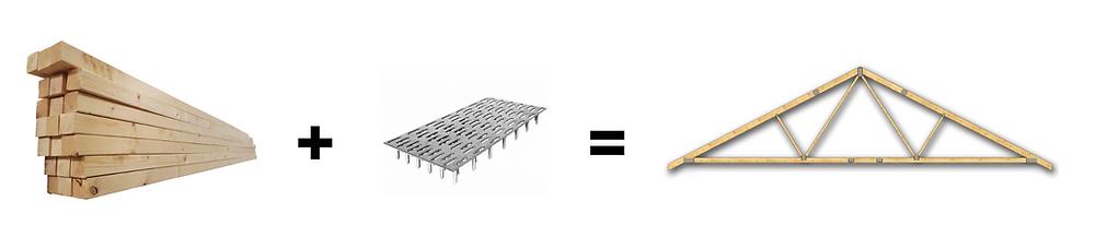 Cum se fabrică fermele din lemn cu conectori MiTek - Miradex Wooden Buildings