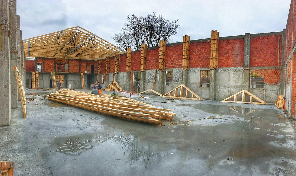 Sarpanta industrializata din lemn cu pla