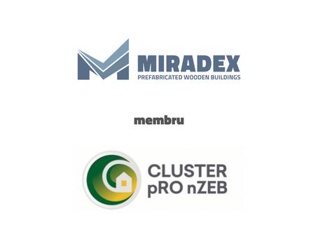 MIRADEX ESTE MEMBRU ÎN CLUSTER PRO-NZEB