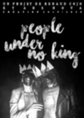 Annabelle Chambon, Cédric Charron, Renaud Cojo, People Under No King