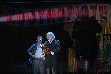 Renaud Cojo, Patrick Robine, Le Zootropiste, Théâtre du Rond-Poin