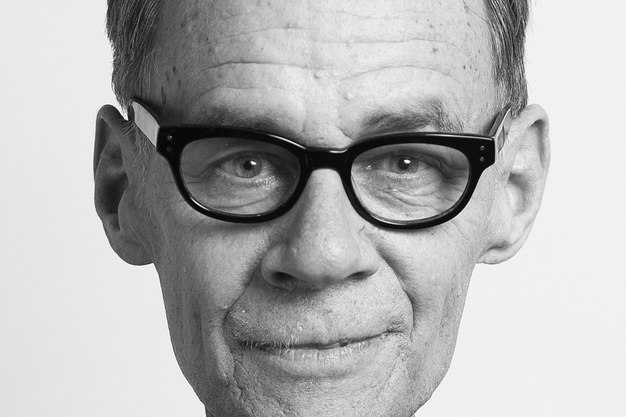 David Carr, journalist for The New York Times, photographed at Boston University weeks before his passing