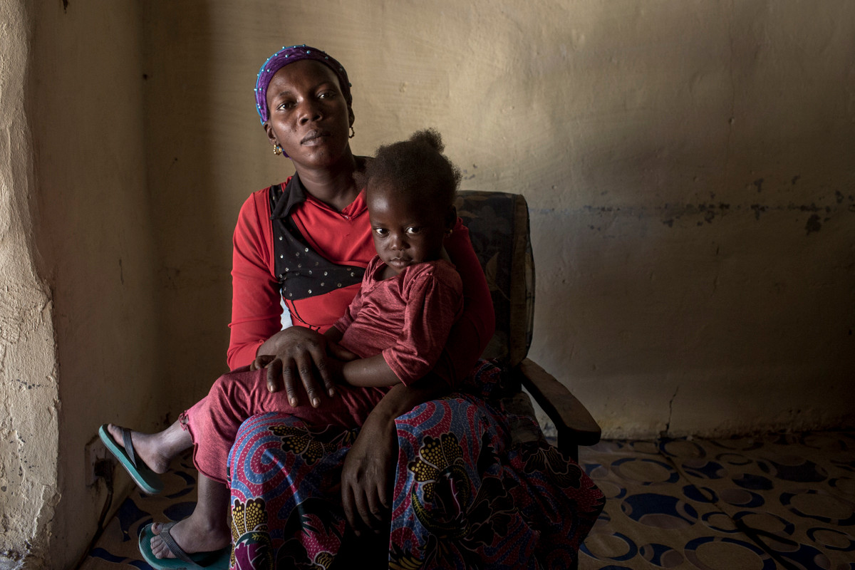Kaddy Samati & Baby Aisha - Ms. Samati and her then one month old daughter Aisha Fatty were unlawfully arrested and detained on May 9, 2016 when Ms. Samati went to inquire about the whereabouts of her husband Monhammed Fatty who would ultimately be detained and tortured for over 8 months by the former regime of Yahya Jammeh.  Kaddy and Aisha were imprisoned in deplorable circumstances and Kaddy beaten severely