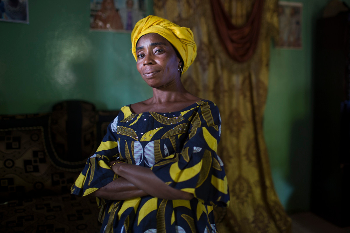 """Rhoey Sabally - """"I say he can kill me (Jammeh). If you die today you cannot die tomorrow."""" . . Rohey Sabally was the first female victim to go to prison from the UDP, an opposition party to former Gambian President Yahya Jammeh. She was beaten and would be unlawfully arrested a total of 3 times for her political activism. . . When others feared political affiliation during election campaign times, Ms. Sabally would become more bold and put on her """"uniform,"""" jeans and a t-shirt of the UDP founder Ousainou Darboe a human rights lawyer and now Vice President of the country who would become discredited from the Presidential seat by unlawful arrest by Jammeh in 2016.In response to her family's protest to her work she said """"No because what we are fighting is too big - so that Gmabians we will have our peace."""" . . She explained further, """"everybody fear of Yahya Jammeh, 22 years, all the Gambians we suffer…and now, Al-ḥamdu lil-lāh, even you don't have money but you have a stable mind.Nobody's harassing you, nobody's following you.Nobody will come in your home."""""""