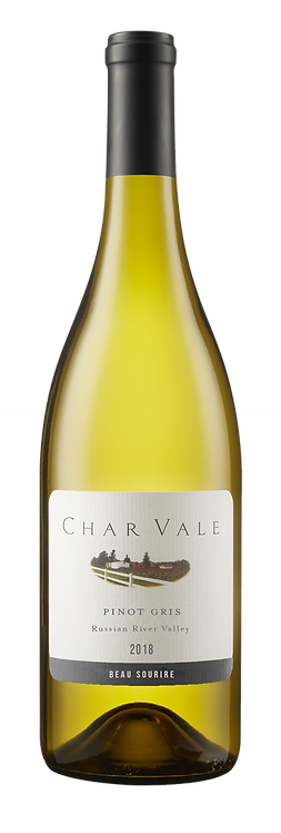 Char Vale 2018 Pinot Gris, Single Vineyard, Russian River Valley Appellation