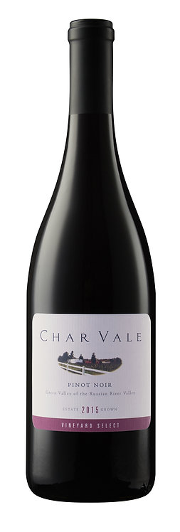 Char Vale 2015 Vineyard Select Estate Pinot Noir, Green Valley of Russian River