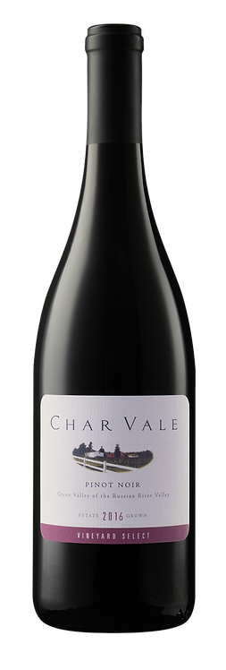 Char Vale 2016 Vineyard Select Estate Pinot Noir, Green Valley of Russian River