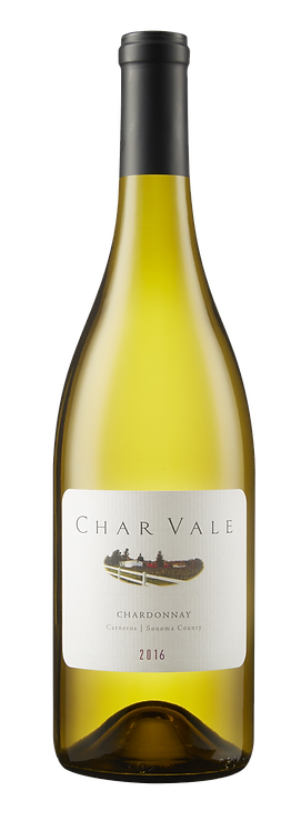 Char Vale 2016 Chardonnay, Single Vineyard, Carneros Appellation