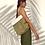 Thumbnail: Mochila Fran verde y blanco