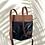Thumbnail: Mochila Fran negra y marrón