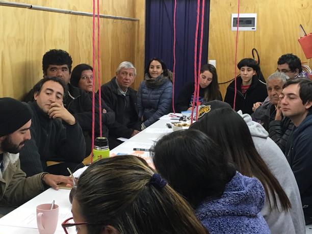 TRENZANDO ORGANIZA PRIMER ENCUENTRO DE LA RED TERRITORIAL EN EX MAESTRANZA BARÓN