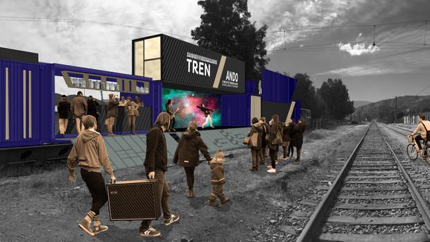 TRENZANDO: infraestructura itinerante para el rescate patrimonial y el intercambio de arte, ciencia