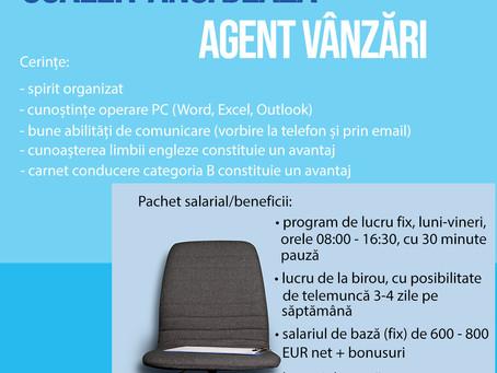 Scaleit angajează AGENT VANZARI