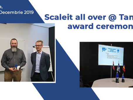 Scaleit all over @ Tamtron award ceremony