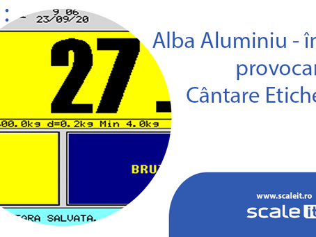 Alba Aluminiu - inca o provocare pe Cantare Etichetare