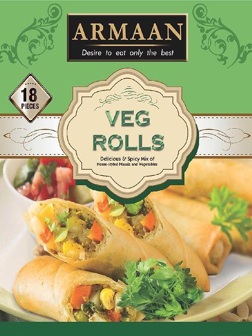18 Vegetable Rolls