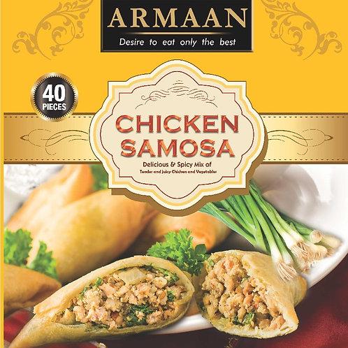 40 Chicken Samosa