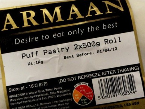Puff Pastry (Roll)