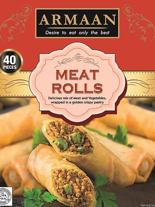 Armaan 40 Meat Rolls