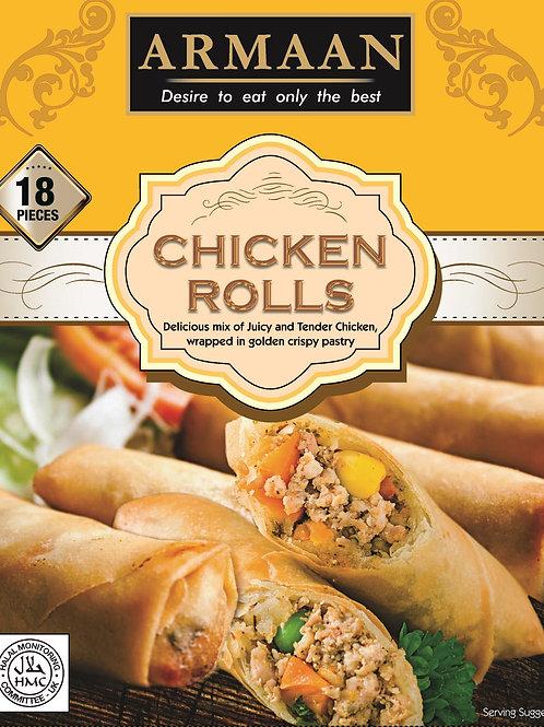 Armaan 18 Chicken Rolls