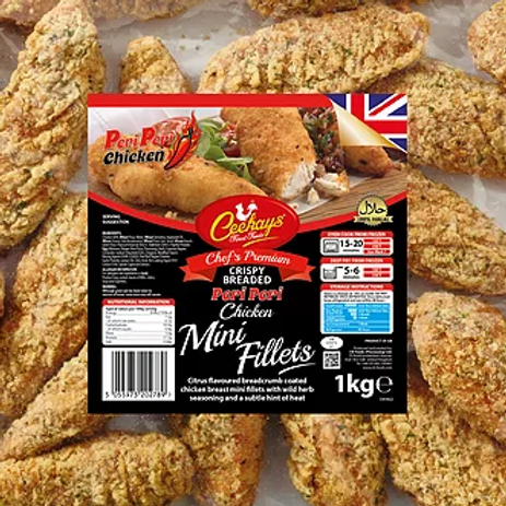Ceekays Peri Mini Fillets (Breaded)