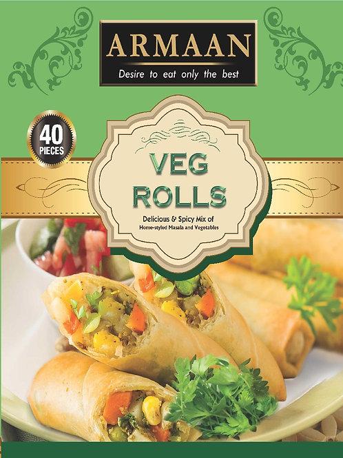 40 Vegetable Rolls