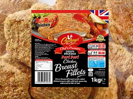 Ceekays Peri Fillets (Breaded)