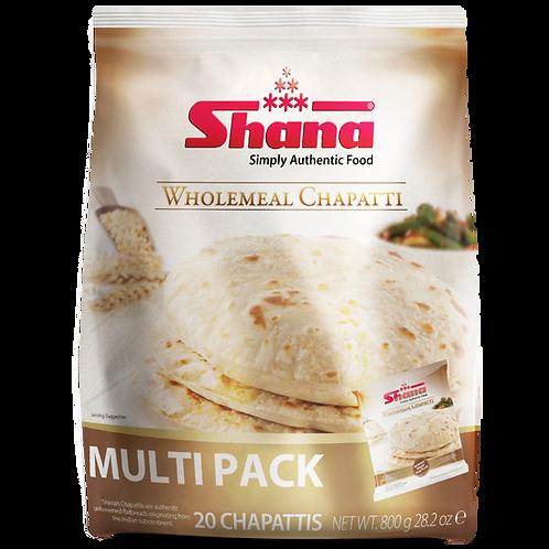 Shana Wholemeal Latcha Chapatti
