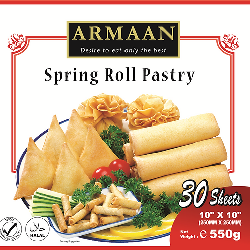Springroll Pastry (30 sheets) 10 inches