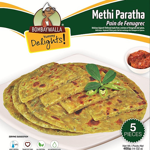 Yummy Delights Methi Paratha