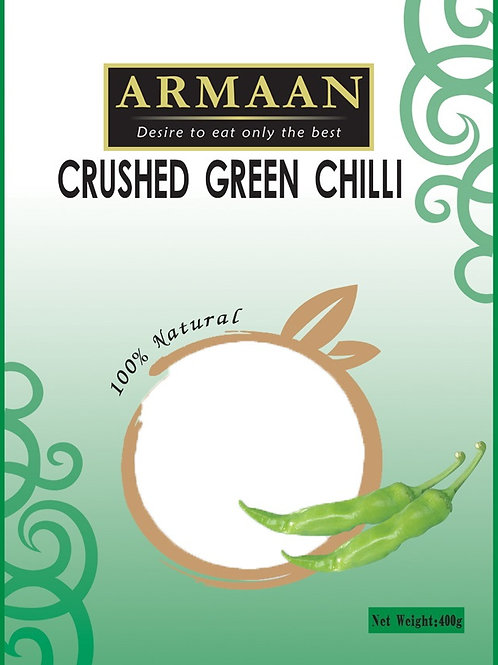 Armaan Crushed Green Chilli