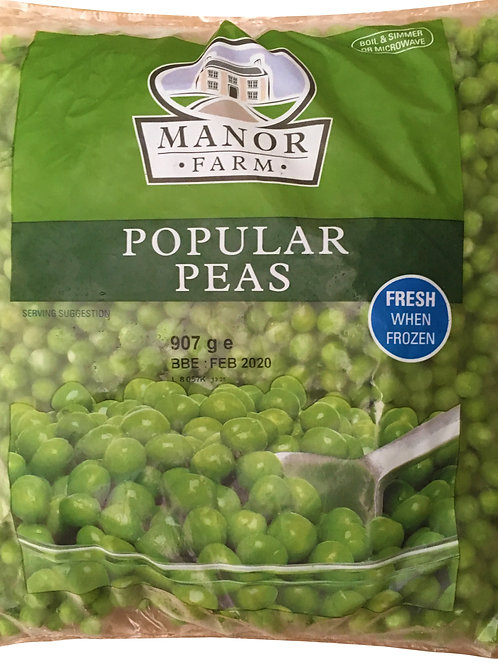 Manor Farm Popular Peas