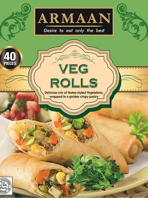 Armaan 40 Vegetable Rolls