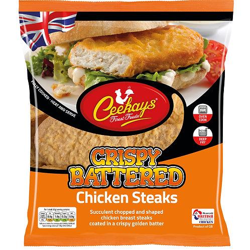 Ceekays Crispy Battered Chicken Steaks