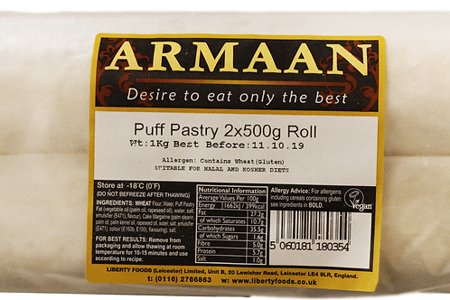 Armaan Puff Pastry Twin Roll
