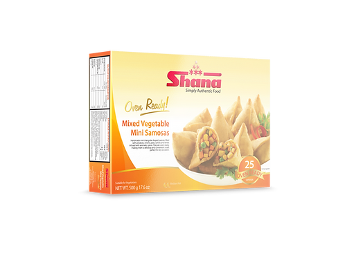 Shana Mini Mixed Veg Samosa