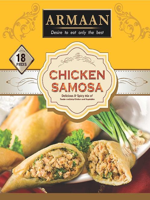 18 Chicken Samosa