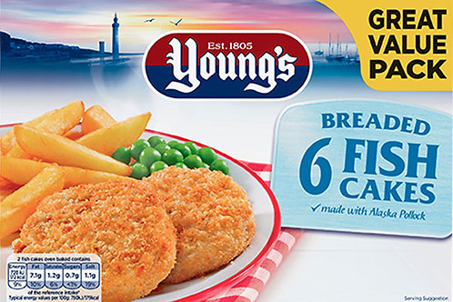 Youngs Fish Cakes